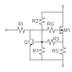 Ac Mode Universal Motor Drive further Blog0325 furthermore All You Need To Know About Basic Power Supply Regulator Circuit in addition Safearealimiter likewise Ultrasonic Detector Circuit. on current limiter with transistor